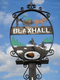 Blaxhall Village Sign